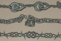 barbed-wire-and-chain-armband-tattoos-designs