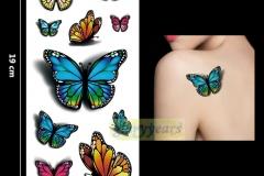 New-1PC-Fashion-Women-Men-Waterproof-Temporary-font-b-Tattoo-b-font-Removable-Simulation-Vivid-Body