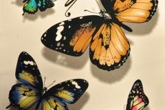 Waterproof-3d-font-b-Tattoo-b-font-Sticker-Colorful-font-b-Butterfly-b-font-Letter-font