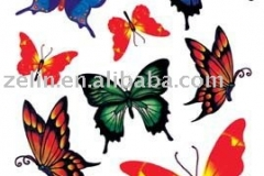 beautiful_butterfly_design_tattoo_sticker_tattoo_stencil