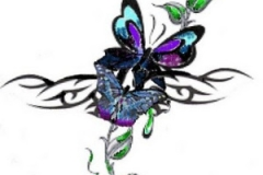 beautifulbutterflytattoodesignsforgirl