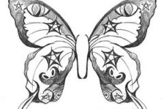 butterfly tattoo design 10