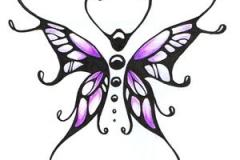 butterfly tattoo design 13