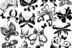 butterfly-tattoos-vector