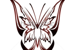 stock-vector-butterfly-tattoo-design
