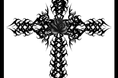 Gothic_Cross_Rose_Version_2_by_Quicksilverfury