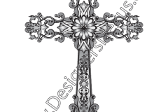 fashion-design-vector-graphic-heralic-ornate-cross-scroll-details-preview