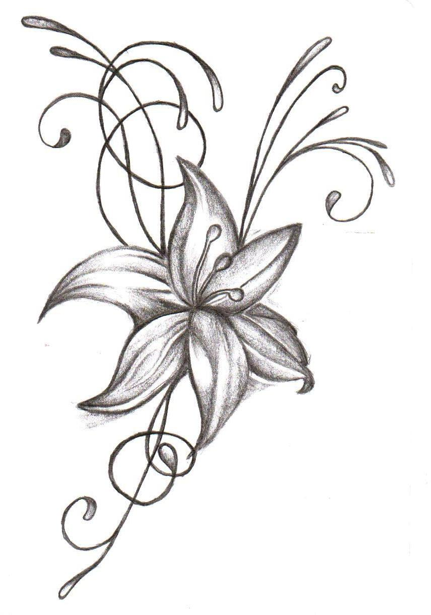 Tattoos flowers tattoos izmirmasajfo Image collections