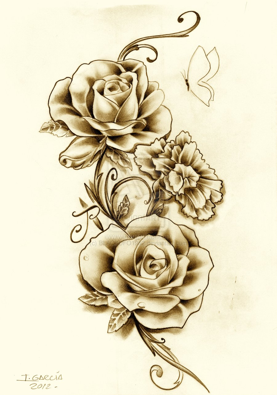 Flower Tattoos Designs Ideas And Meaning: Flowers Tattoos