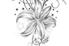 flowers-and-stars-tattoos-tattoo-flower-stars-lilzeu-tattoo-de-47364