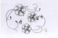 tattoo-design-flowers