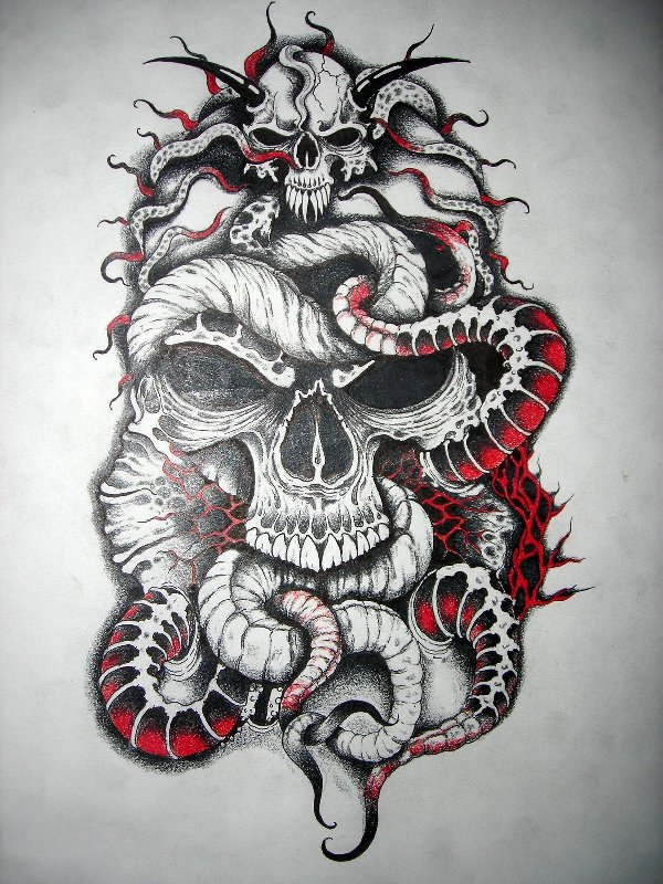 skull tattoos. Black Bedroom Furniture Sets. Home Design Ideas