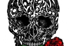 Rose-and-skull-tattoos-designs