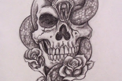Skull tattoos designs ideas men women girls guys best (19)