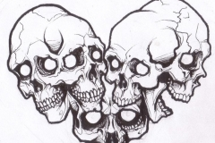 skull tattoo design 01
