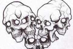 skull tattoo design 01