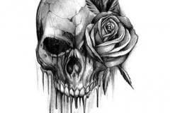 skull tattoo design 02