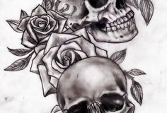 skull tattoo design 03
