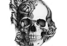 skull tattoo design 05