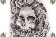 skull-tattoo-design