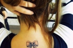 Best bow tattoos designs pictures images ideas (18)