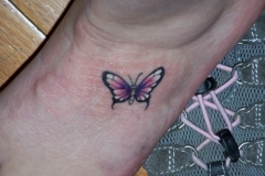 knot-small-butterfly-tattoo-designs-Leg
