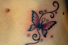 pink-butterfly-with-swirls-and-sparkles-tattoos