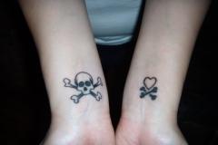 skull-tattoo-on-wrist